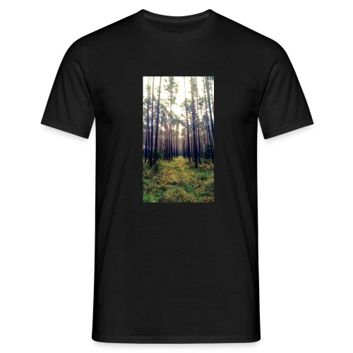Las we mgle - Koszulka męska