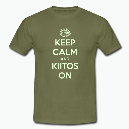 keep calm and kiitos on - Männer T-Shirt