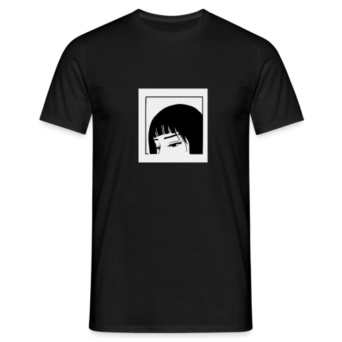 Sad but happy - Männer T-Shirt