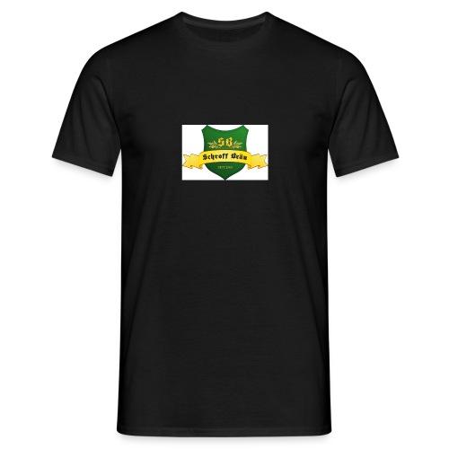 schroff braeu logo - Männer T-Shirt