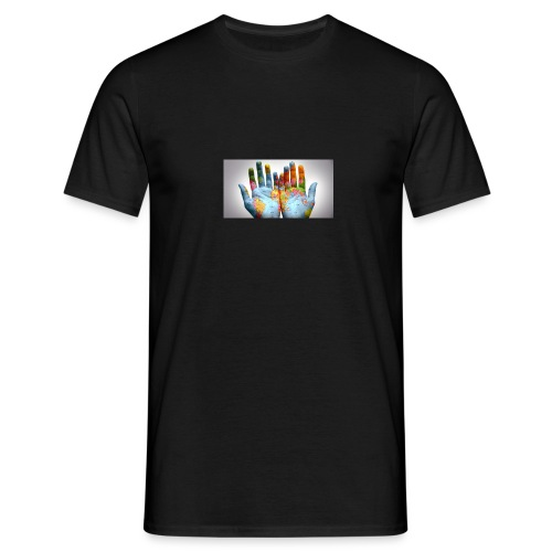 Hands of the world - T-shirt herr