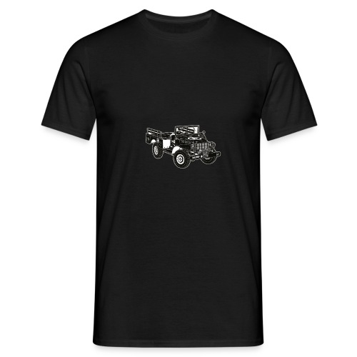 WC52 U.S. Military Truck - Men's T-Shirt