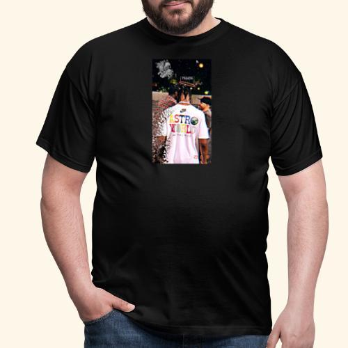 Travis Scott Astroworld Custom - Men's T-Shirt