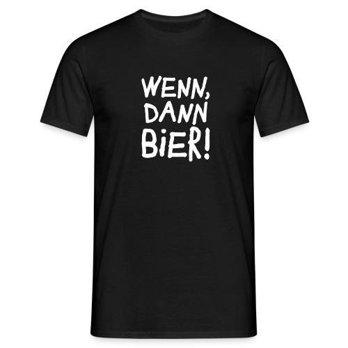 Bier Garten Grillmeister Sommer Party - Men's T-Shirt