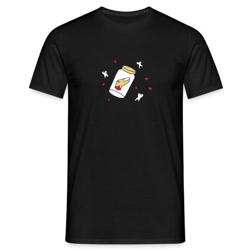 Finger Zähne Blut blood teeth Halloween Mafia Game - Männer T-Shirt