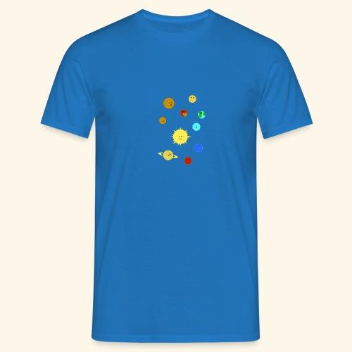 Solsystemet - T-shirt herr