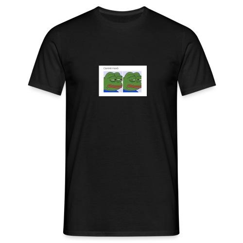 Depressed Froggo // Current Mood - Men's T-Shirt