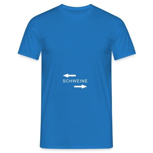 polit schweine - Männer T-Shirt