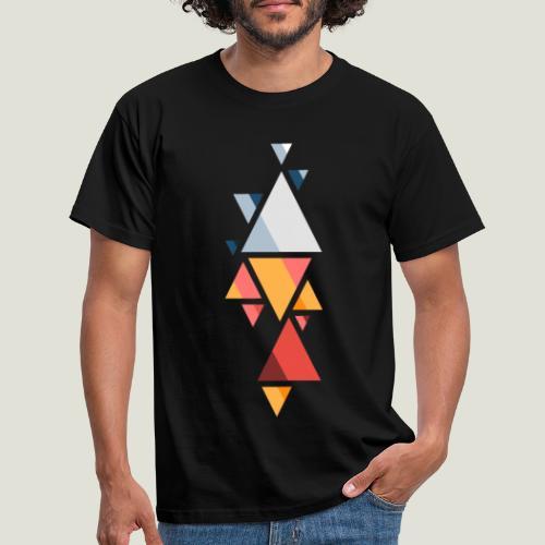 Shaped Agency Muster - Männer T-Shirt