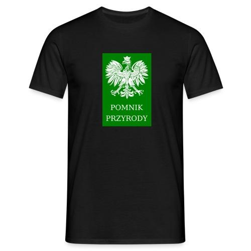 POL_Pomnik_Przyrody-svg - Koszulka męska