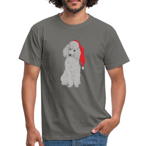 Poodle toy G - christmas - Herre-T-shirt