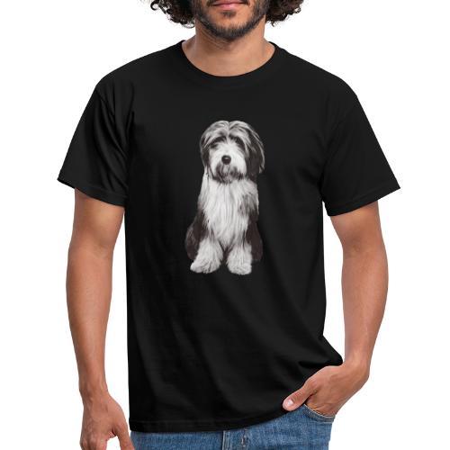 Bearded collie - T-shirt herr