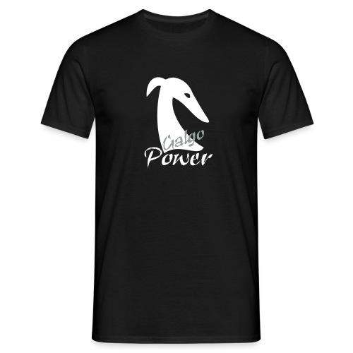 Galgopower - Männer T-Shirt