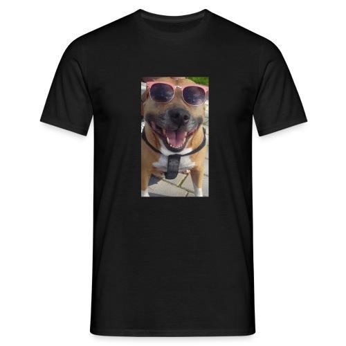 Cool Dog Foxy - Mannen T-shirt
