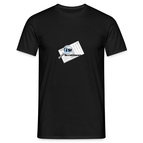The scrutineer logo - Men's T-Shirt