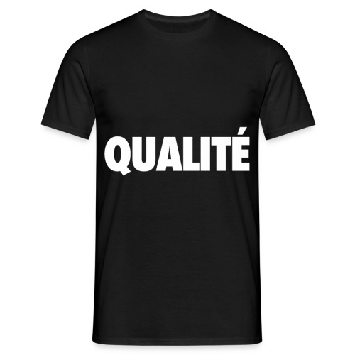 QualiteWhite png - T-shirt Homme