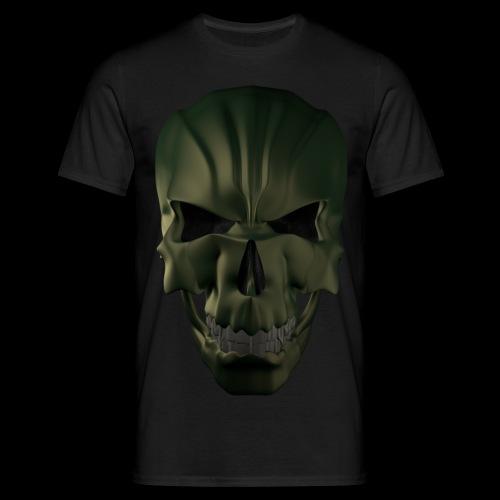 Grim Skull 3D - Koszulka męska