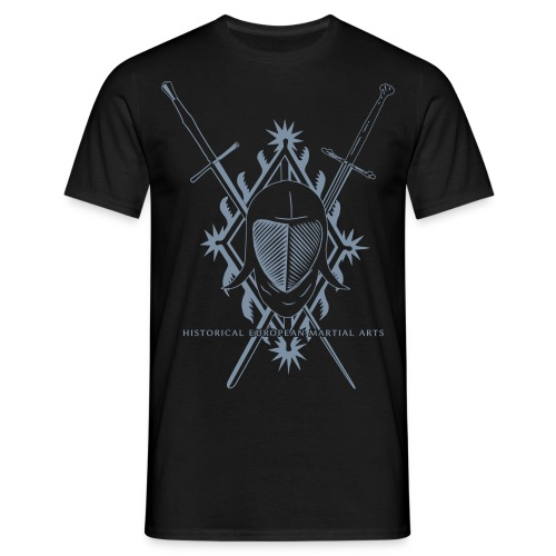 Hema Mask and Swords and Thalhoffer diamond - Men's T-Shirt
