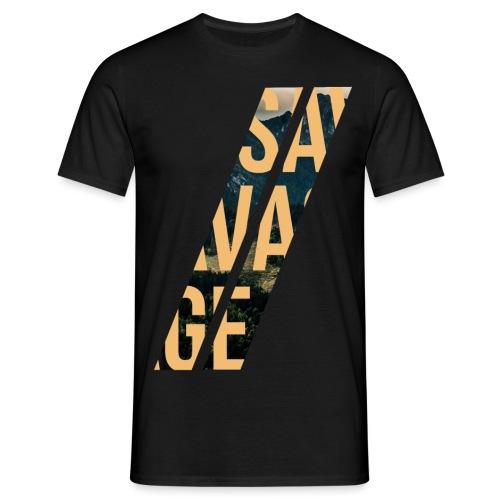 //Savage - Maglietta da uomo