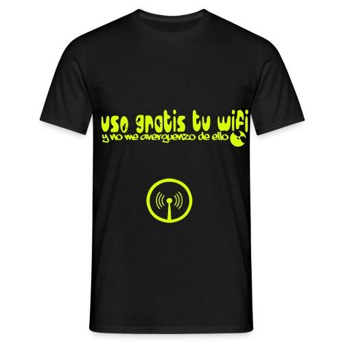 usotuwifi1c logo - Camiseta hombre