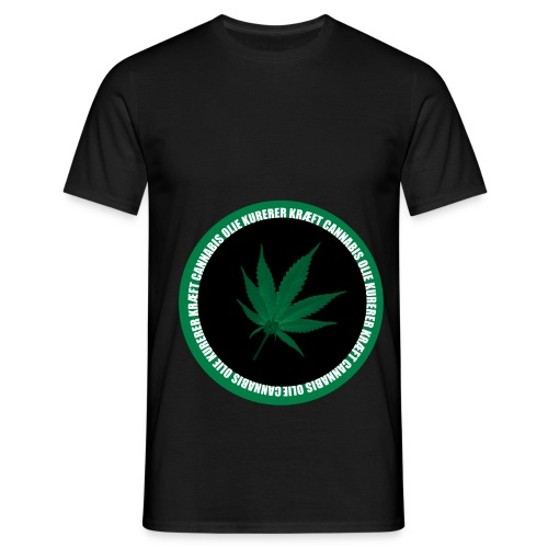 Weed png - Herre-T-shirt