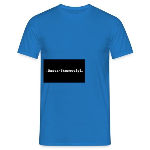 .Basta-Stereotipi. Classic - Maglietta da uomo