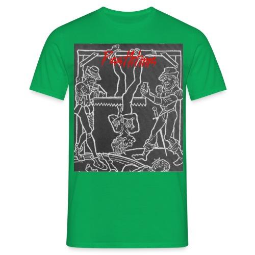 threesome nightmare paita - Miesten t-paita