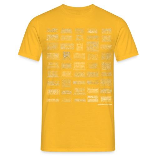 Synth Evolution T-shirt - Black - Men's T-Shirt