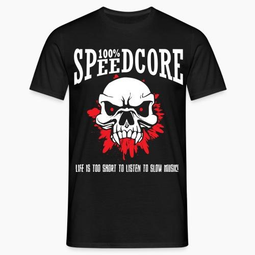 100% Speedcore - Men's T-Shirt