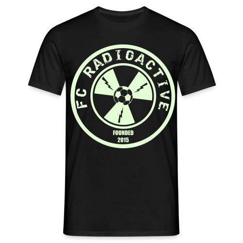 FcRadioactive Logo - Mannen T-shirt