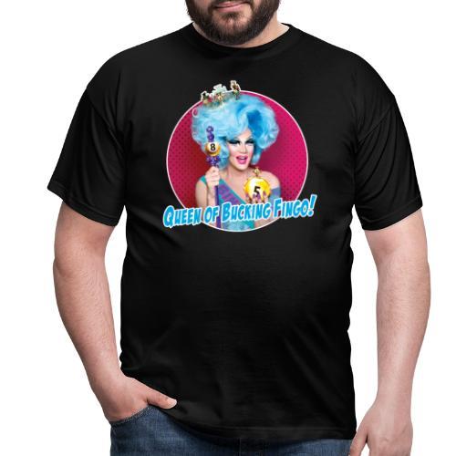 Queen of Bucking Fingo - Men's T-Shirt