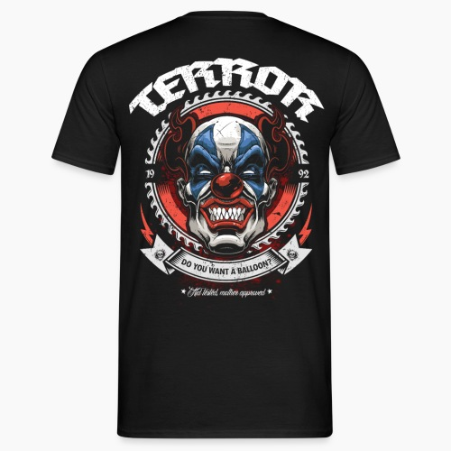 Terror - Do You Want A Balloon? - Men's T-Shirt