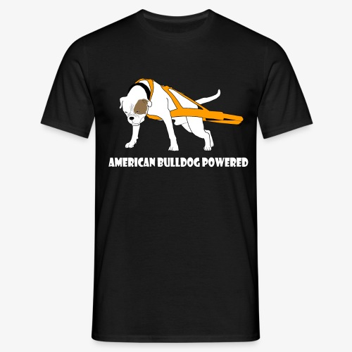 American Bulldog powered - Men's T-Shirt