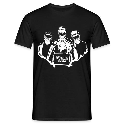 colour crew logo white 11000x9500px png - Männer T-Shirt