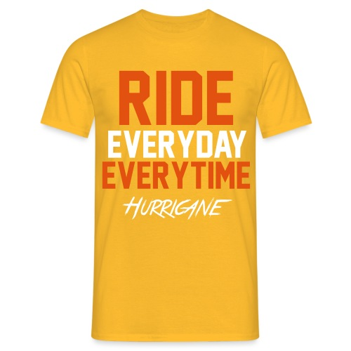 Ride EveryTime EveryDay - T-shirt Homme