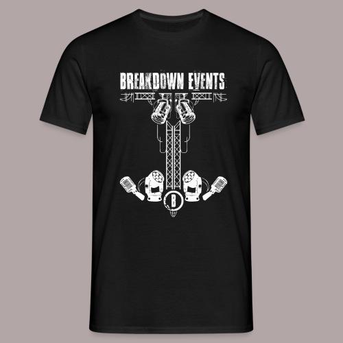 Breakdown Anker Motiv - Männer T-Shirt