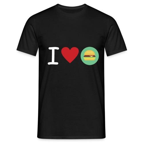 Amor de hamburguesa - Camiseta hombre