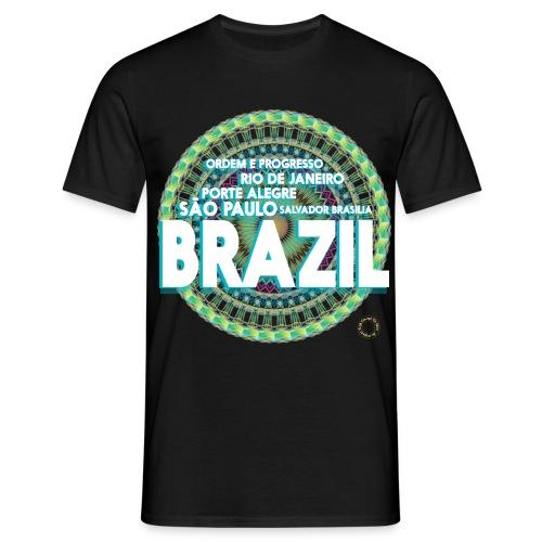 Lemon Brazil Mandala - T-shirt Homme