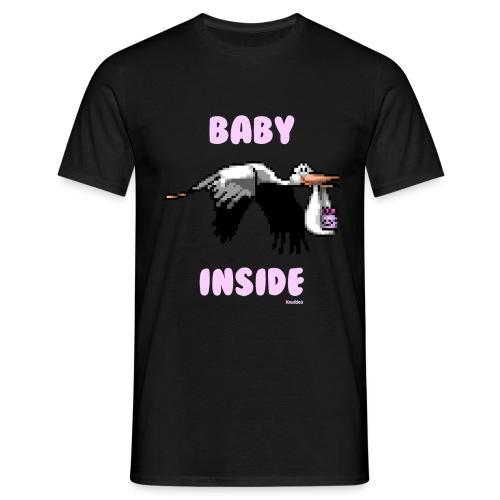 Babyinside - Girl - Männer T-Shirt