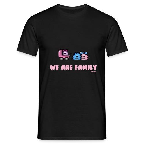 We Are Family - Girl - Männer T-Shirt