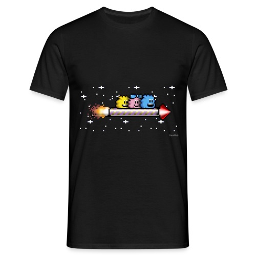 Raketenritt - Männer T-Shirt