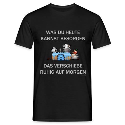 Abwasch - Männer T-Shirt