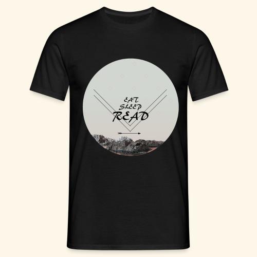 Eat, Sleep, Read - T-shirt herr
