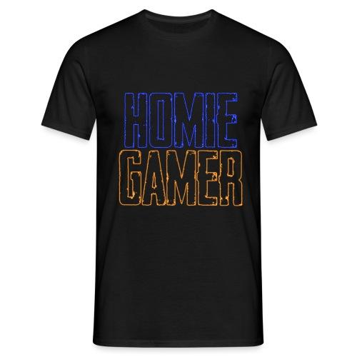 Hømie Gamer Klær (Neon Stil) - T-skjorte for menn