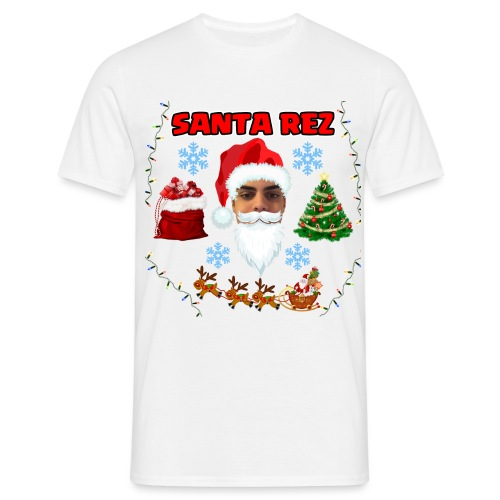Santa Rez - Miesten t-paita