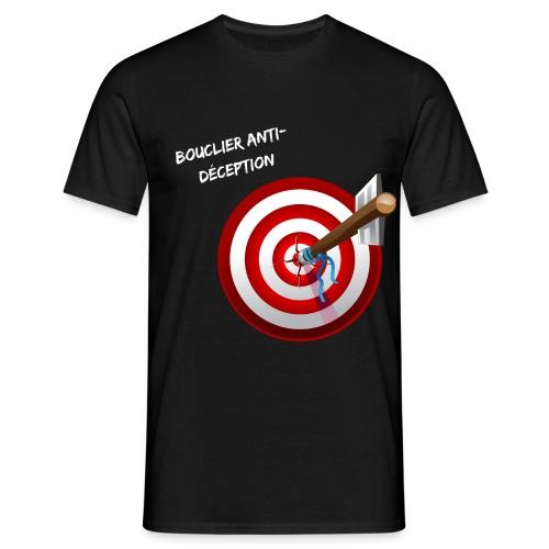 Bouclier anti-déception - T-shirt Homme
