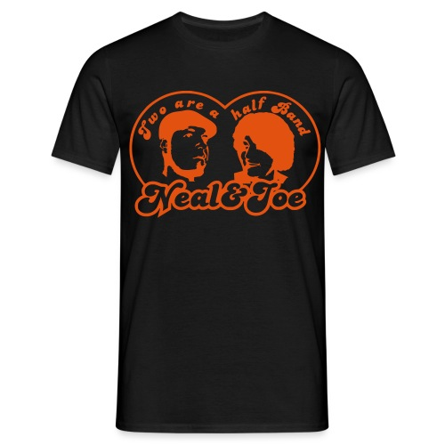 two are a half band - Männer T-Shirt