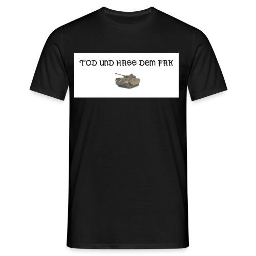 tuhdf - Männer T-Shirt