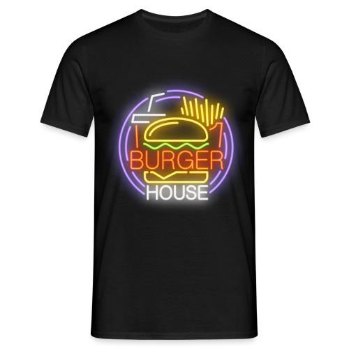 Burger House - Camiseta hombre