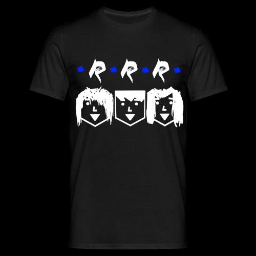 RRR - Heads (Für Schwarze Kleidung) - Männer T-Shirt